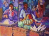 Than Naing Yankin Market 36x48 oil